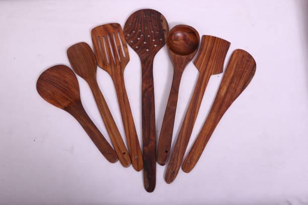 AK Handicrafts Wooden Spatula