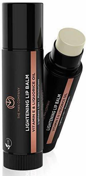 The Man Company Lightning Lip Balm 4GMS Vitamin E Liquorice Oil