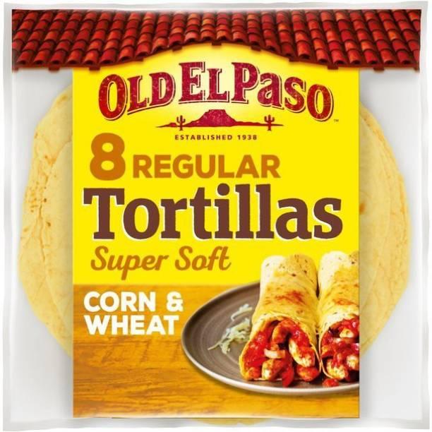 Old ELPaso 8 Regular Tortillas Corn & Wheat (335g) 335 g
