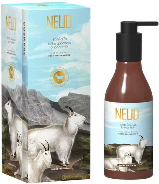 NEUD Goat Milk Premium Shampoo for Men & Women - 1 Pack