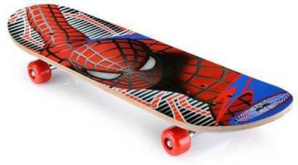 ZARTHA Spiderman Skateboard 23 inch x 6 inch Skateboard