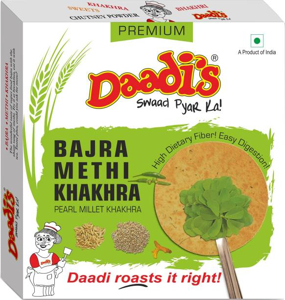 Daadi's Bajra Methi Khakhra