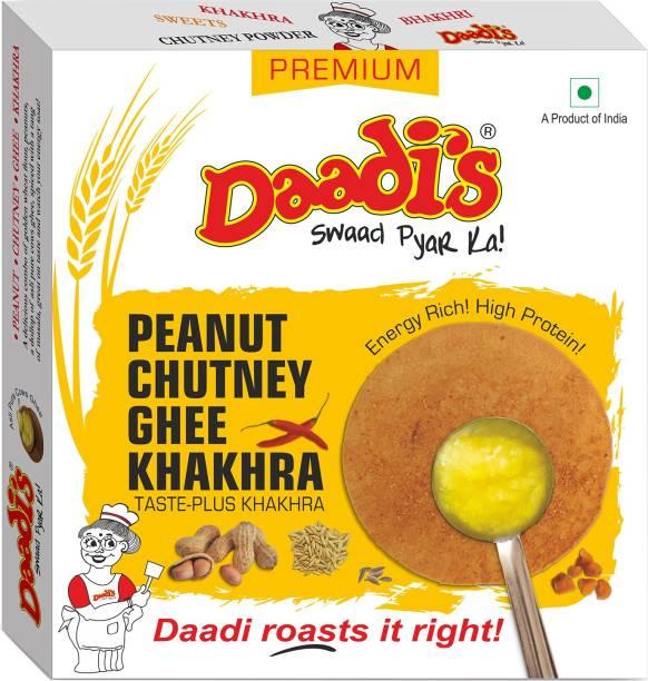 Daadi's Ghee Chutney Khakhra Peanut