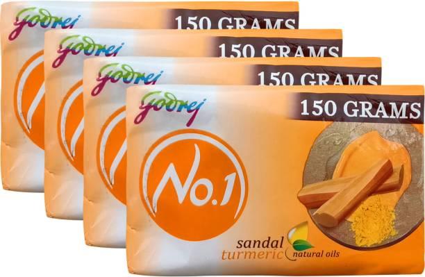 Godrej No.1 Sandal and Turmeric Soap