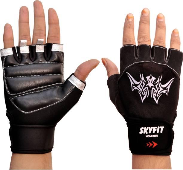 SKYFIT Excellent Half Fingers Gym Sports Gloves Gym & Fitness Gloves