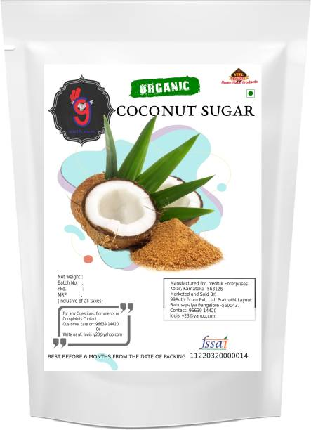 99Auth Coconut Premium High Quality Pure Narial Sugar Original 200g Sugar