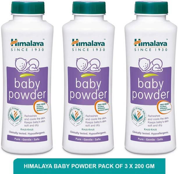 HIMALAYA Baby Powder | Baby Powder For Summer (pack of 3)200g