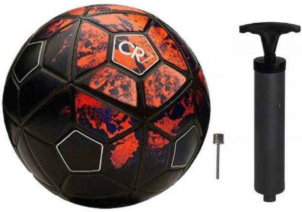 Kiraro Premium Quality CR7 Football With Inflation Pump Football Kit