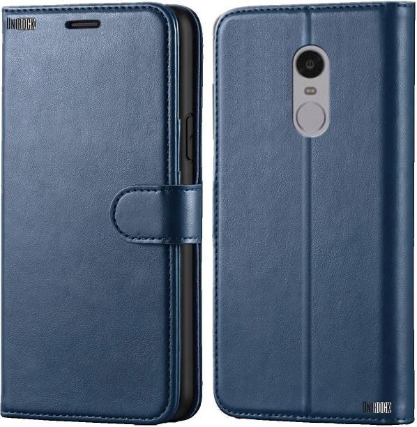 Unirock Flip Cover for Mi Redmi Note 4