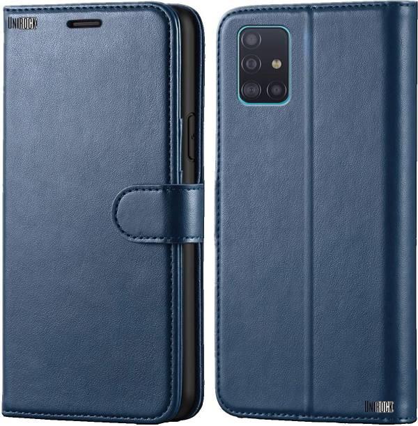 Unirock Flip Cover for Samsung Galaxy A71