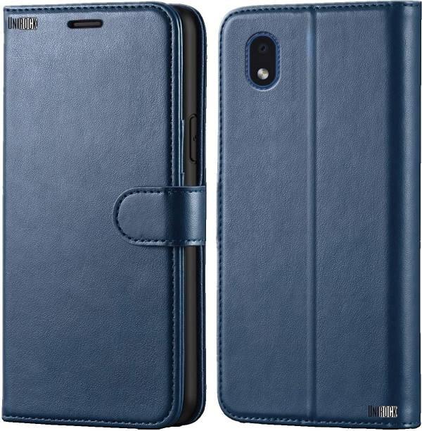 Unirock Flip Cover for Samsung Galaxy M01 Core