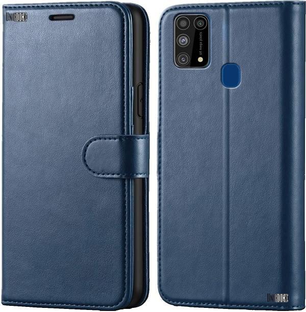 Unirock Flip Cover for Samsung Galaxy M31