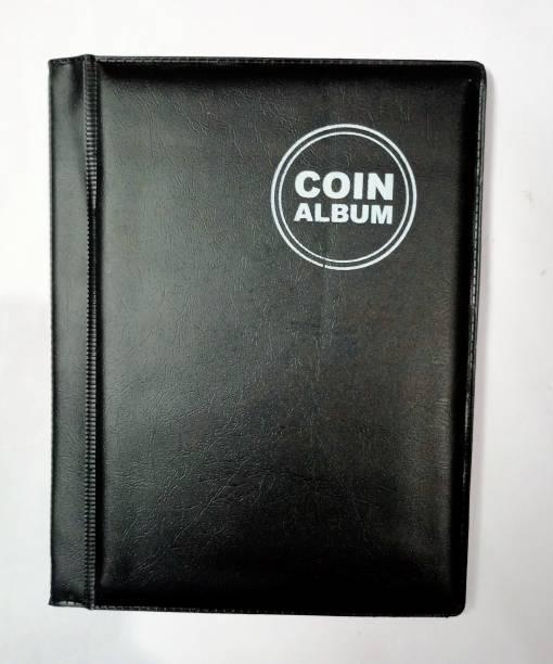 rci Coin Album for Keeping 60 Coins collection BLACK COLOR Coin Bank