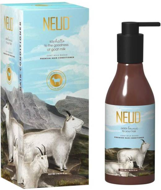 NEUD Goat Milk Premium Hair Conditioner for Men & Women - 1 Pack