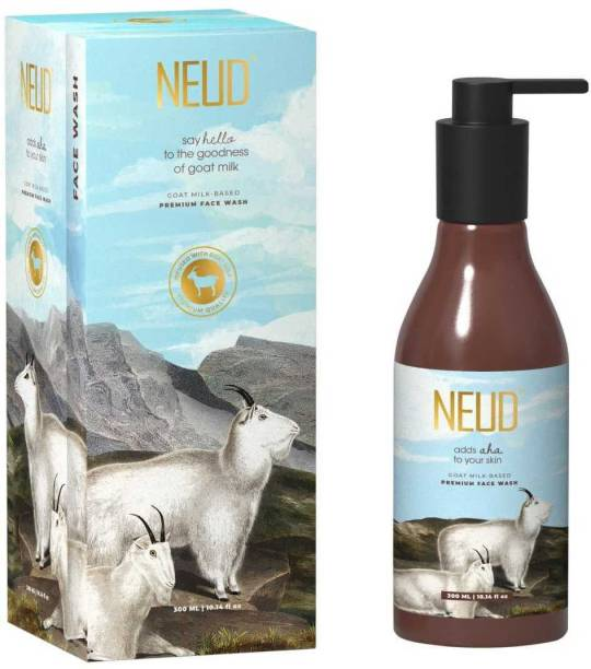 NEUD Goat Milk Premium  for Men & Women - 1 Pack (300ml) Face Wash