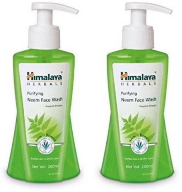 HIMALAYA Neem Purifying  200 ml (Pack of 2) Face Wash