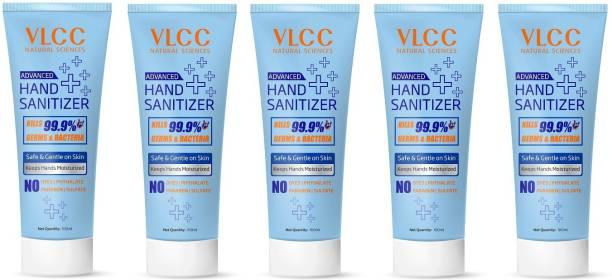 VLCC  Tube (5 X 100ML) Hand Sanitizer Tube