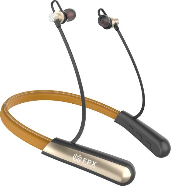 FPX Ultra In Ear Neckband, 65 hrs Playtime, Perfect for workouts Bluetooth Headset