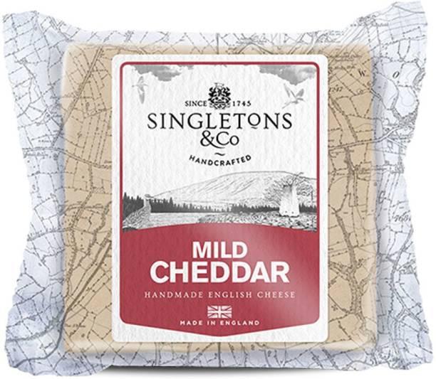 Singletons & Co Mild White Cheddar Cheese 200 g