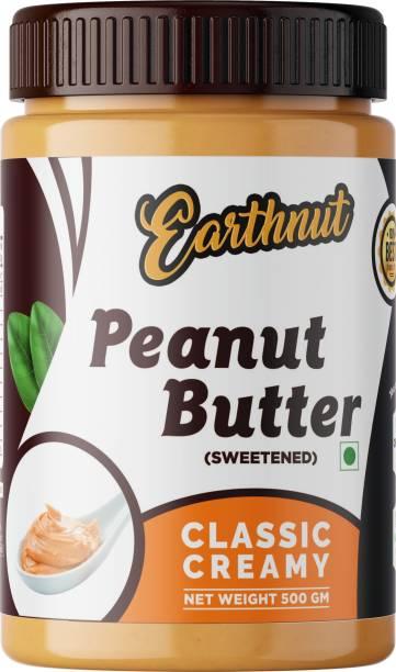 Earthnut Classic Peanut Butter 500g (Sweetened) 500 g