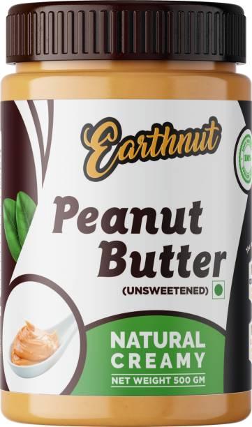 Earthnut Natural Peanut Butter Creamy 500 g