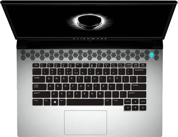 Saco Keyboard Protector Silicone Skin Cover for 2019 Dell Alienware M15 M17 R2 15.6 inch Laptop Keyboard Skin