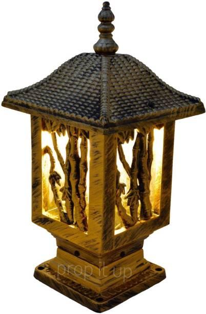 Prop It Up 0042/GL Beige Aluminium Table Lantern