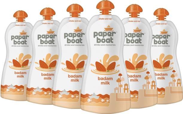 Paper boat Badam Milk