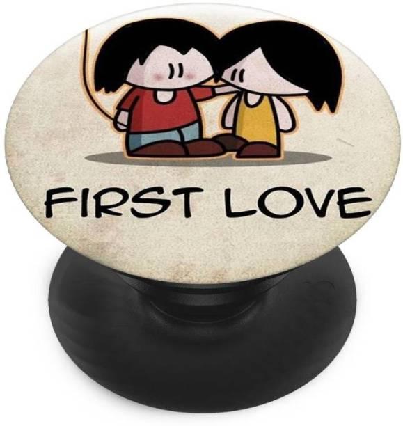 Sswastik Finger Grip/Selfie Mobile Holder, and Heart First LOVE, First love for me Mobile Holder