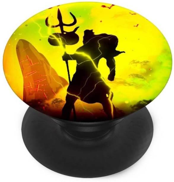 redfly Finger Grip/Selfie Mobile Holder, and Heart for god Shiva, God shiv shankar Mobile Holder