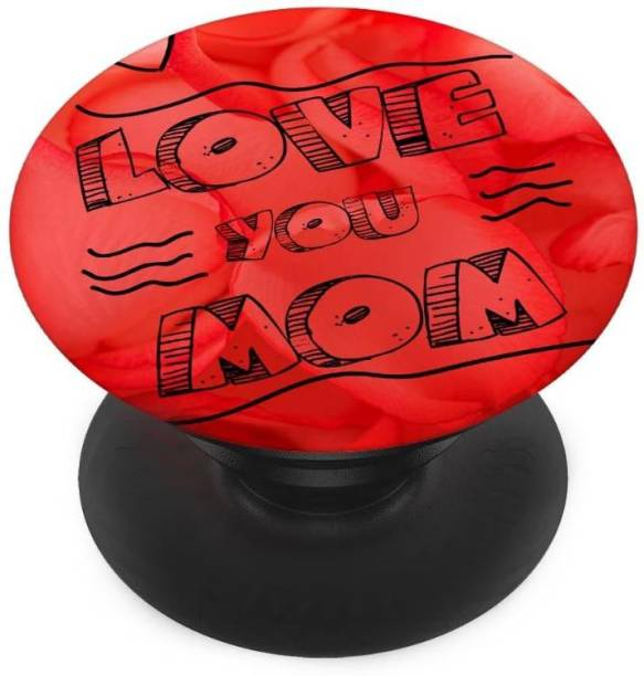 Sswastik Finger Grip/Selfie Mobile Holder, and Heart for Love you mom Mobile Holder