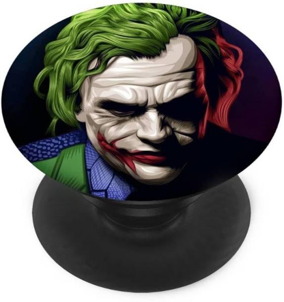 INDIALAND Finger Grip/Selfie Mobile Holder, and Heart for Betmen Joker Mobile Holder