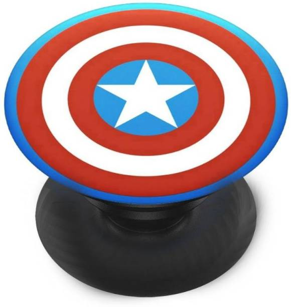 Sswastik Finger Grip/Selfie Mobile Holder, and Heart for Captain America, Sheeld, Star Mobile Holder