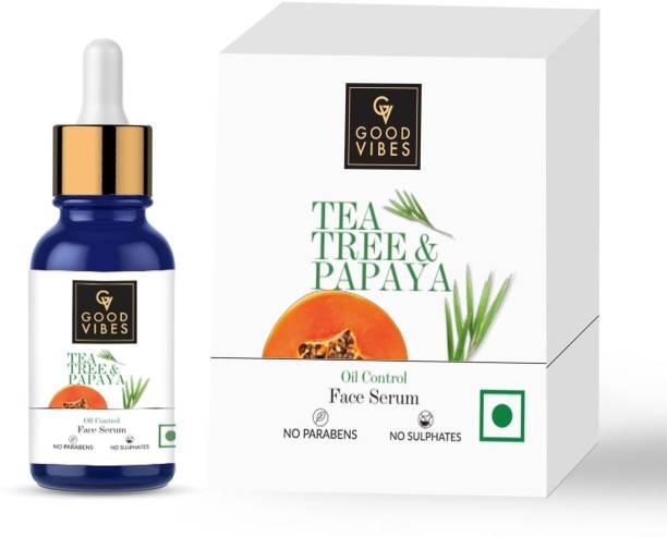 GOOD VIBES Oil Control Serum - Tea Tree & Papaya