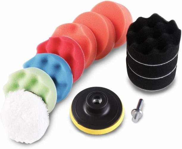 REHTRAD Buffing Sponge Pads Kit for Car Sanding Polishing Waxing Sealing Glaze (12pcs, 3 inch) Paint Polisher