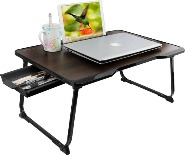 Portronics POR-1231 My Buddy One Plus Wood Portable Laptop Table
