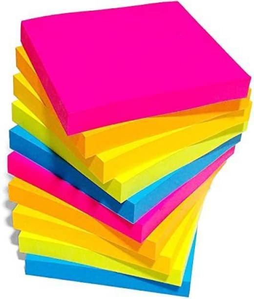 pollwala sticky note 500 Sheets regular, 5 Colors
