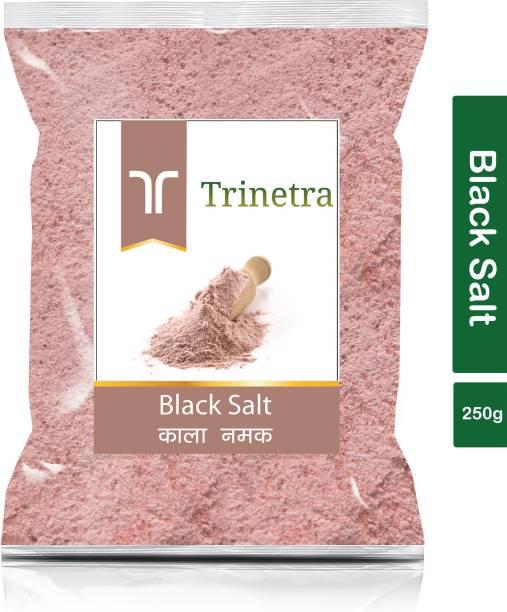 Trinetra Best Quality Black Salt (Kala Namak)-250gm (Pack Of 1) Black Salt