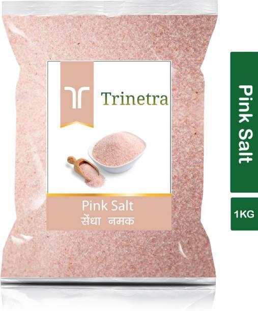 Trinetra Best Quality Pink Salt (Sendha Namak)-1Kg (Pack Of 1) Himalayan Pink Salt