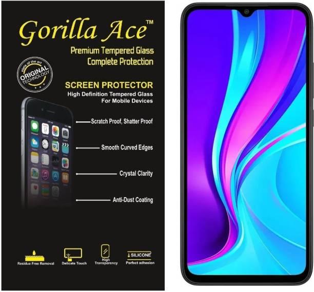 Gorilla Ace Tempered Glass Guard for Redmi 9, Redmi 9 Prime, Redmi 9A, Redmi 9 Power