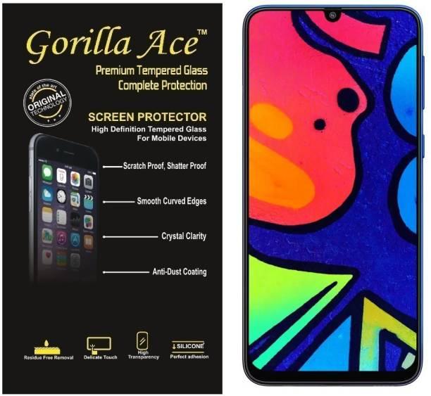 Gorilla Ace Tempered Glass Guard for Samsung Galaxy F41, Samsung Galaxy M21