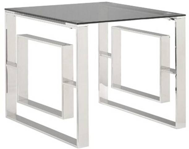 Roundhill Steel End Table