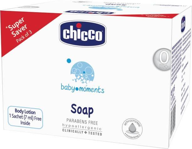 chicco Tripack Soap 100 Gr