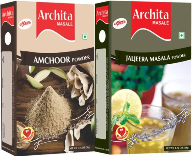 Archita Amchoor Powder(50 gram) & Jaljeera Masala Powder(50 gram) Pack of 2