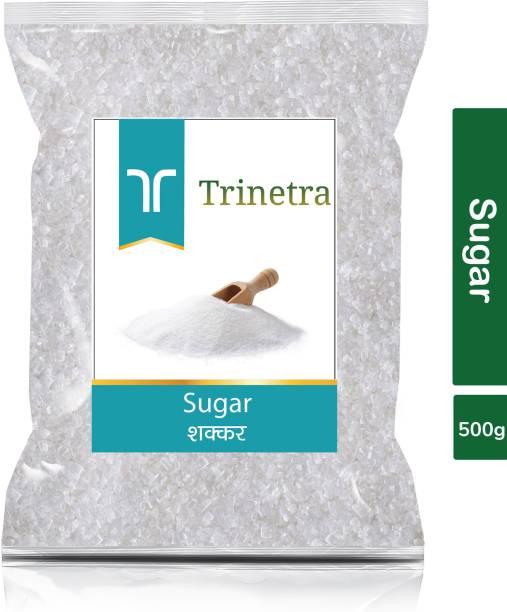 Trinetra Best Quality White Sugar-500gm (Pack Of 1) Sugar