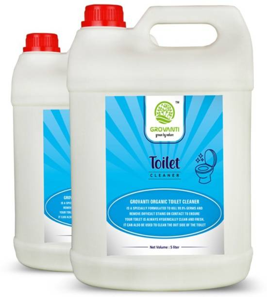 GROVANTI ORGANIC TOILET CLENER COMBO PACK 2 Ocean Liquid Toilet Cleaner