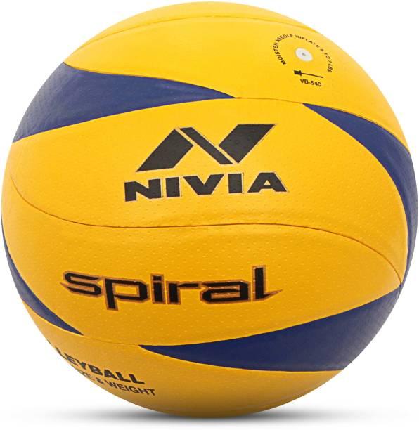 NIVIA Spiral Volleyball - Size: 4