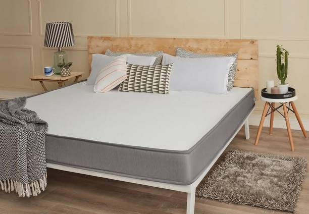 Wakefit Dual Comfort Mattress - Hard & Soft 6 inch Queen High Resilience (HR) Foam Mattress