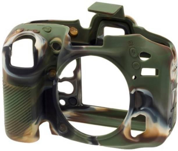 DAUMI PREMIUM EASYCOVER PROTECTIVE SILICONE CAMERA CASE / COVER NIKON D7100 OR D7200 CAMOUFLAGE  Camera Bag