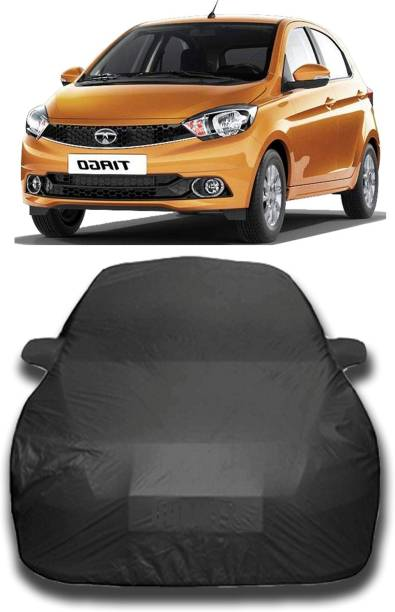 KASHYAP FASHION WORLD Car Cover For Tata Tiago (With Mirror Pockets)